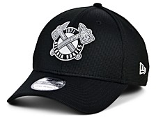 Atlanta Braves   Clubhouse Black White 39THIRTY Cap