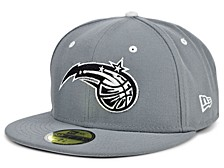 Orlando Magic Storm Black White Logo 59FIFTY Cap