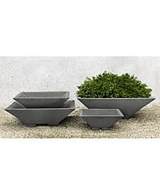 Square Zen Bowl Planter