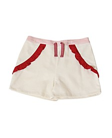 Toddler Girls Pull on Ruffle Short