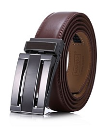 Men's Linxx Designer Ratchet Leather Belt