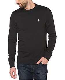 Men's Sticker Pete Fleece Long Sleeve Sweatshirt