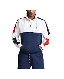 Men's Interlock Quarter-Zip Pullover