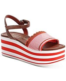 Highrise Spade Wedge Sandals