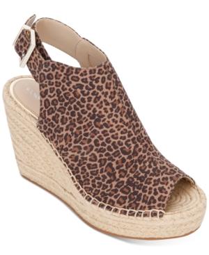 Women's Olivia Espadrille Peep-Toe Wedges Women's Shoes