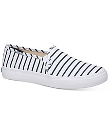 Women's Double Decker Breton Stripe Sneaker