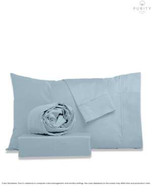 Purity Home 400 Thread Count Performance Cotton Sheet Set Full Bedding