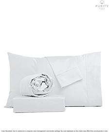 1000 Thread Count  CVC Cotton Sheets Set, Queen