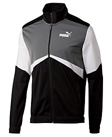 Men's Colorblocked Retro Track Jacket