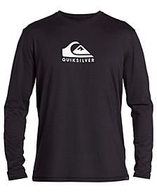 Men's Solid Streak Long Sleeve Rashguard