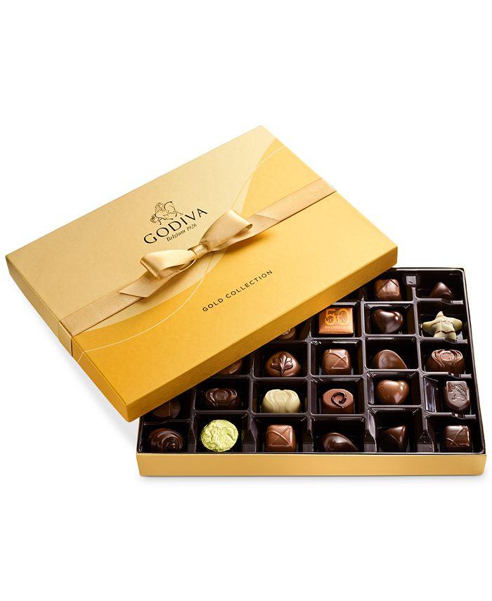 Godiva - Chocolatier 36-Pc. Gold Gift Box