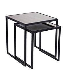 Amarell Nesting End Tables 2 Piece Set