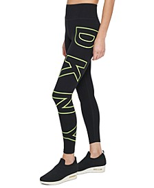 High-Waist Logo Leggings