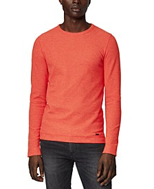 BOSS Men's Tempest Dark Orange T-Shirt