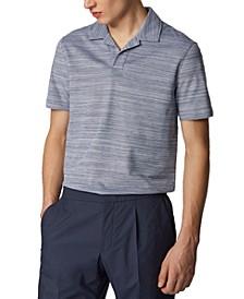 BOSS Men's Pye Dark Blue Polo Shirt