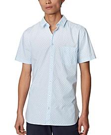 BOSS Men's Magneton Open Blue Shirt