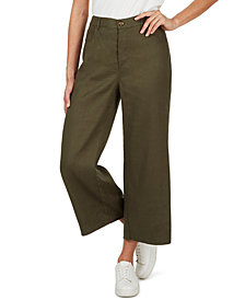 Adyson Parker Cropped Wide-Leg Pants