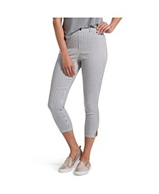 Women's Striped Ultra Soft Denim Leggings