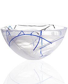 "Kosta Boda Contrast 6.5"" Bowl"