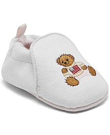 Baby Girls Percie Layette Crib Booties from Finish Line