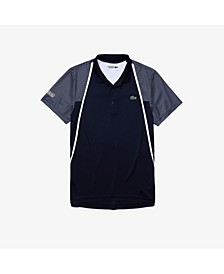 Men's Sport Short Sleeve Colorblock Polo Shirt
