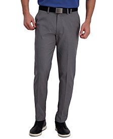 Men's Slim-Fit Cool Right Performance Flex Flat-Front Solid Dress Pants