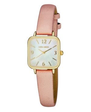 Women's Pink Polyurethane Strap Watch 24mm