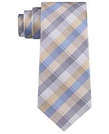 Men's Ladder Plaid Slim Tie