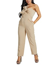 Evelina Strapless Jumpsuit