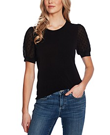 Puff-Sleeve Top
