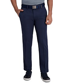 Men's Classic-Fit Cool Right Performance Flex Flat-Front Solid Dress Pants