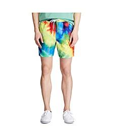 폴로 랄프로렌 Polo Ralph Lauren Mens Tie-Dye Swim Trunk,Multi