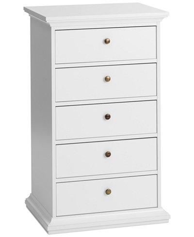 Amelie Ready-to-Assemble 5-Drawer Chest, Quick Ship