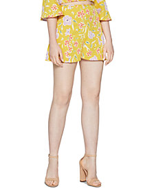 BCBGeneration Woven Floral Shorts