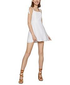 Tie-Strap A-Line Dress