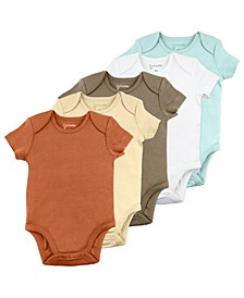 Baby Boy 5-Pack Bodysuits
