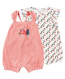 Baby Girl 2-Pack Romper