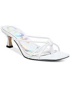 Jess Barely-There Kitten Heel Sandals