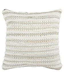 "Stripe Decorative Pillow Cover, 20"" x 20"""