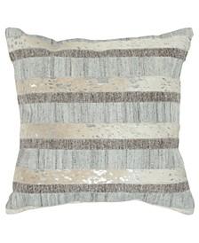 "Stripe Down Filled Decorative Pillow, 20"" x 20"""