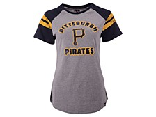 Pittsburgh Pirates Women's Fly Out Raglan T-shirt
