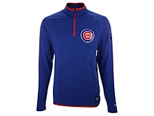 Chicago Cubs Men's Brushback Quarter-Zip Pullover