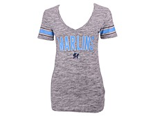 Miami Marlins Women's Space Dye T-Shirt