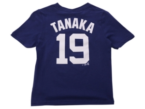 Nike New York Yankees Kids Masahiro Tanaka Name and Number Player T-Shirt