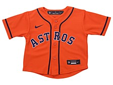 Houston Astros Toddler Official Blank Jersey