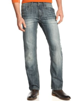 Image of INC International Concepts Slim Straight Jeans, Only at Macy's