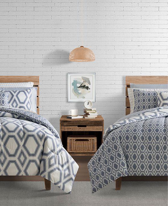 Sunham Erin 9-Pc. Twin Comforter Set
