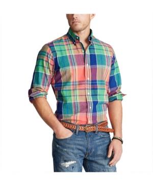 Polo Ralph Lauren Men's Classic Fit Madras Shirt