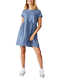 Tina Babydoll T-Shirt Dress