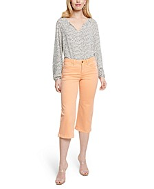 Wide-Leg Tummy-Control Jeans